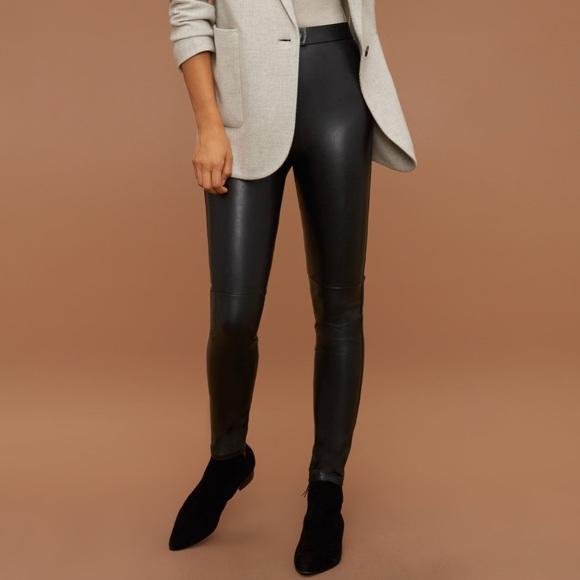 c99e52e2befc12 Aritzia Pants | Wilfred Free Mattea Pant Faux Leather Leggings ...